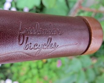 FreeLander Bicycles Leather Handlebar Grips