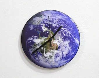 Planet Earth - Wall Clock