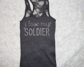 I love my Soldier Tank . Proud Army Wife . Support the Army . Military Love . Military Support . Army Deployment Support . Army Love