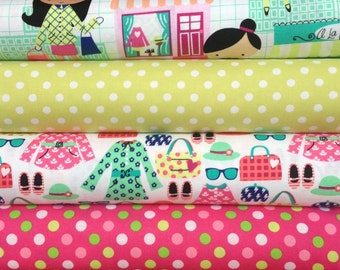 LA Boutique Bundle from Michael Miller, 1/2 yard of each of 3 fabrics