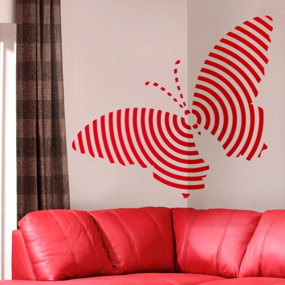 White Butterfly Wall Decor Target : Butterfly target wall decal art home decor vynil office living