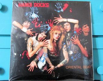 Hanoi Rocks - Oriental Beat Colored Vinyl Record