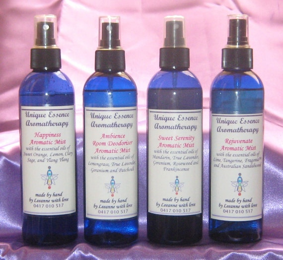 Aromatic Room and Body Sprays 250ml (price is for single item)