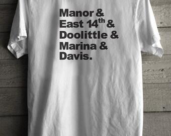 San Leandro California Top 5 Shirt Mens
