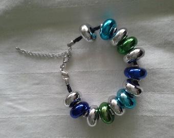 bracelet, beaded