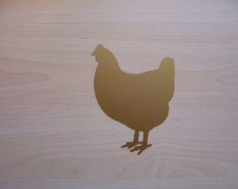Chicken decal, car decal, laptop decal, wall decal