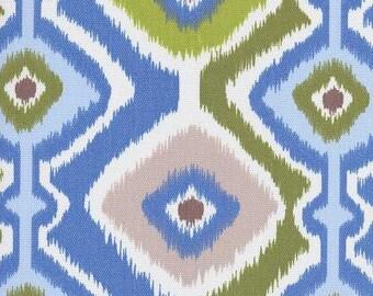 Ikat Mesa Light Blue Sky, Ikat Fabric