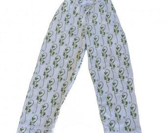 Green Ivy Pajama Pants