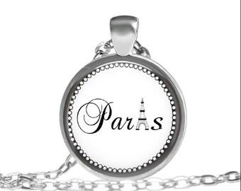 ON SALE Paris Tower Necklace, Paris France Necklace, France Necklace, Eiffel Tower Necklace, Eiffel Tower, Christmas In Paris, Eiffel Tower