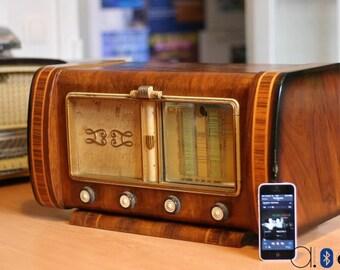 Bluetooth vintage Larmequin radio (40W)