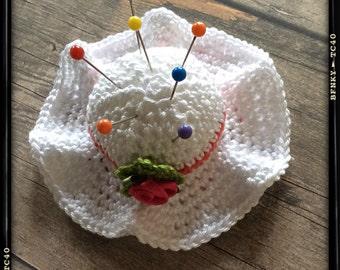 Pincushion/hat pincushion