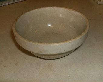 Stoneware Small Mixing Bowl - Crock