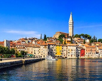 Europe - Croatia - View of Rovinj - SKU 0101