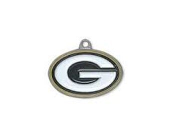 Green Bay Packers Charms Gold Backing