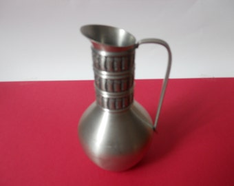 Pewter Norway pitcher/Norwegian pewter vase