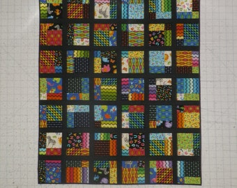 "46 x 54"" Quilt.  Little Genuis fabric"