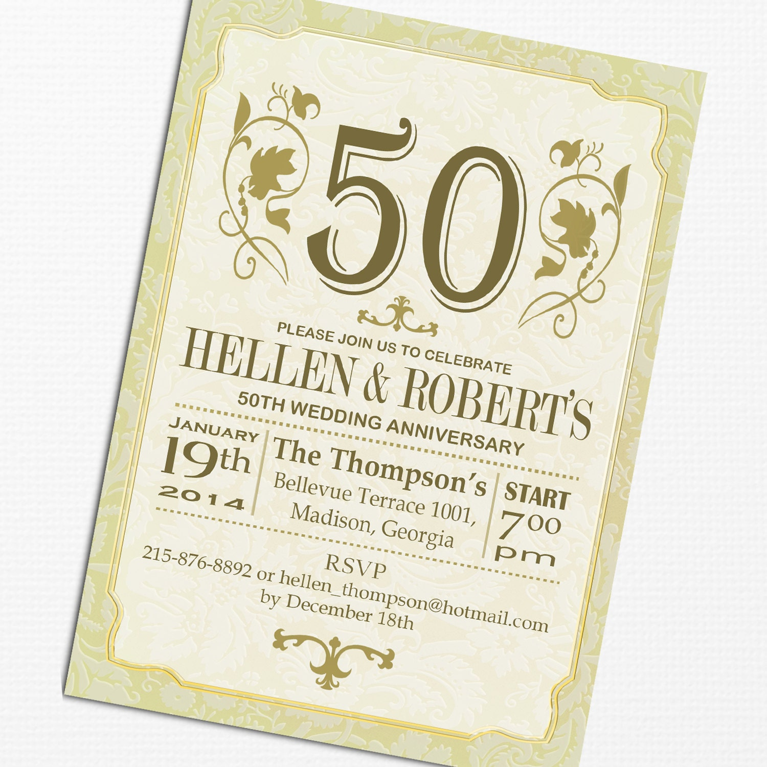 It's just a photo of Epic 50th Wedding Anniversary Cards Free Printable