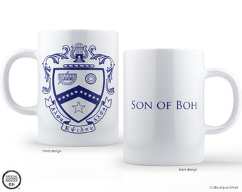 KKY Kappa Kappa Psi Fraternity Crest Son of Boh Mug