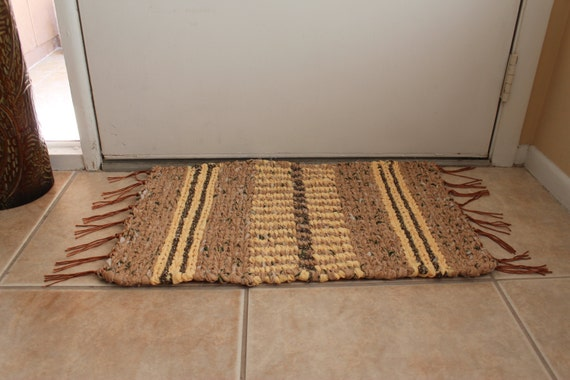 Apricot Tart - Heirloom Quality Twined Rug