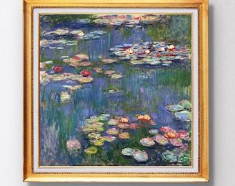 Claude Monet - Waterlilies - Fine Art Glicée - 1916 - SKU 0083
