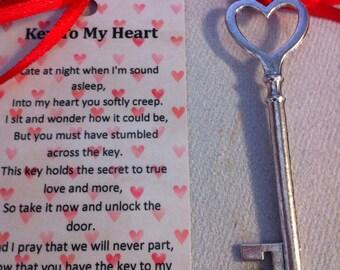 The Key To My Heart Keepsake
