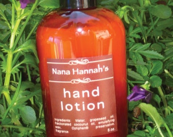Hand and Body Lotion, 8 oz