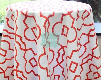 Tablecloth - Premier Prints - Bordeaux - Lava Red - Choose Your Size - Table Linen Wedding Home Decor Dining Kitchen