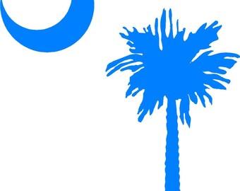 South Carolina Cornhole Decals (Set of 2)