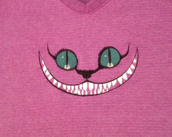 Embroidered Grinning Cheshire Cat