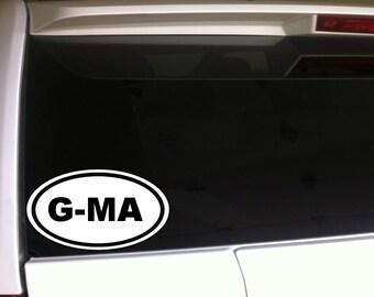 "Grandma Car Decal Vinyl Sticker 6"""