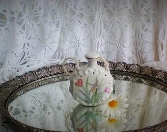 Vintage Ceramic Hanging Potpourri Holder - Japan- STILL SMELLS GREAT!