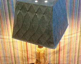 Un-Wined Table Lamp Recycled/Repurposed