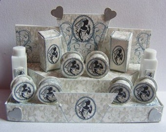 Dolls House Miniature Bridal Toiletry Display Download