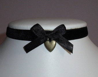 Image result for victorian heart chokers