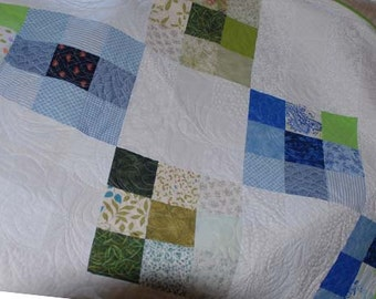 Modern Quilt  hand made