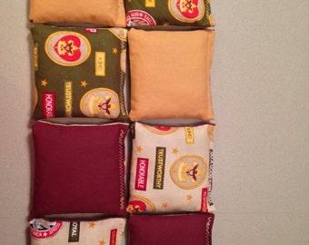 Boy Scouts Bean Bags (set of 8)