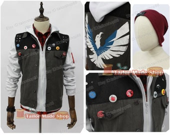 Second Delsin Rowe Cosplay Costume white version
