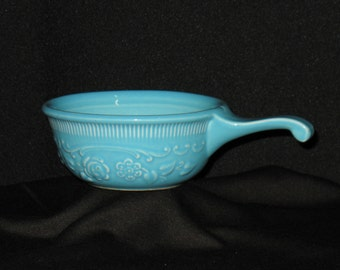 Vintage - Taylor Smith Taylor - Individual Baker - Oven-Serve - Turquoise