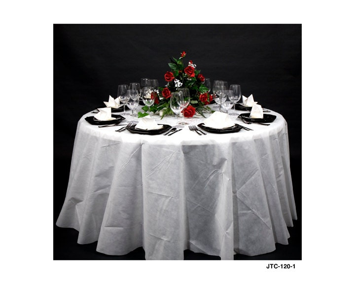 Joyfull linenlook 120 round table cover for 120 round table cover
