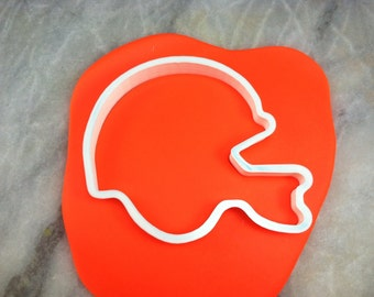Football Helmet Cookie Cutter Outline - CHOOSE Your OWN SIZE - Fast Shipping!