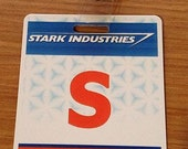 Stark Industries Security Badge