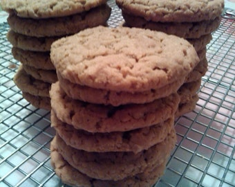 A Pound of Homemade Oatmeal Peanut Butter Cookies