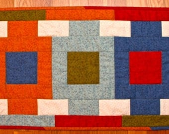 Just Squares Table Runner