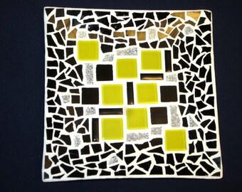 Mod Style Mosaic Plate
