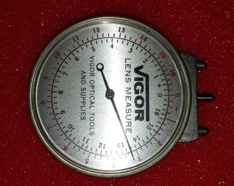 Antique Vigor Optical Lens measure tool
