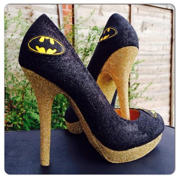 Superhero High Heel Shoes