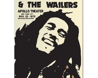 Vintage Replica Art.  Bob Marley