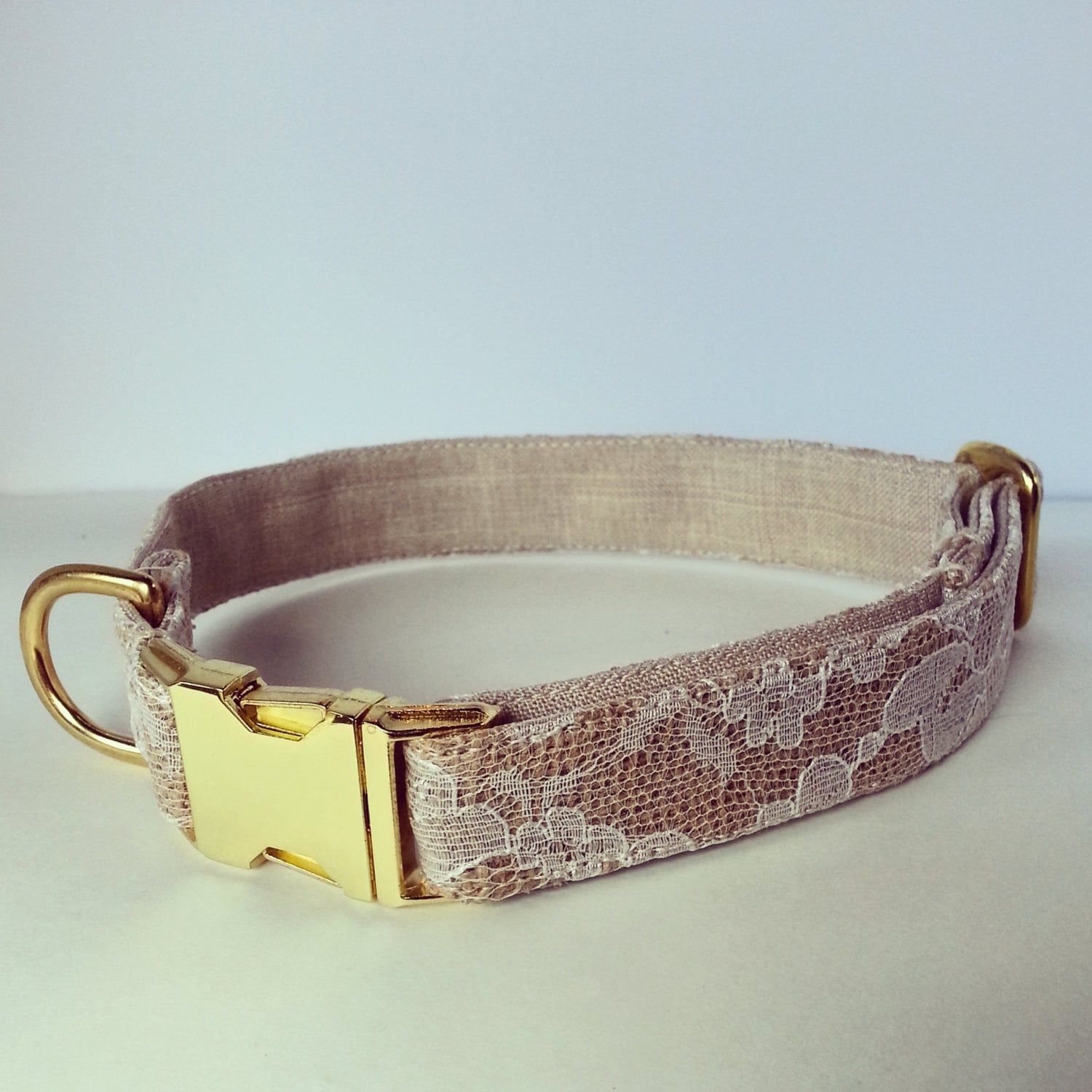 dog wedding collar dog collar rustic dog collar