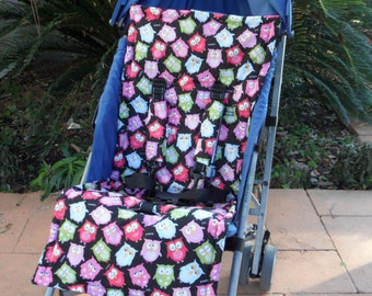 Stroller Pad Liner SEWING PATTERN PDF and Tutorial, Car seat Liner, Seat Belt Cover Instructions