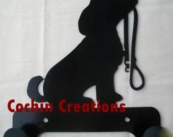 Puppy leash holder